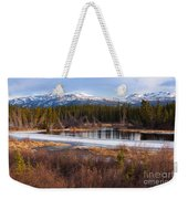 Yukon Taiga Wetland Marsh Spring Thaw Canada Weekender Tote Bag