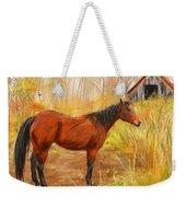 Yuma- Stunning Horse In Autumn Weekender Tote Bag