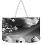 Yurts Weekender Tote Bag