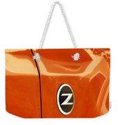 Z Emblem P Weekender Tote Bag