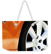 Z Emblem Wheel Weekender Tote Bag