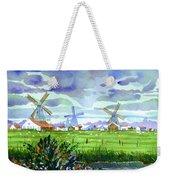 Zaanse Schans Windmills Weekender Tote Bag