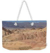 Zabriskie Point Panorama Weekender Tote Bag