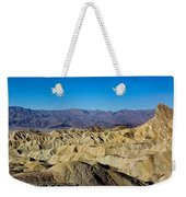 Zabriskie Point Panoramic Weekender Tote Bag