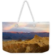 Zabriskie Point Sunrise Death Valley Weekender Tote Bag