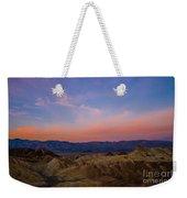 Zabriskie Point Sunrise Weekender Tote Bag