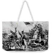 Zachary Taylor Cartoon Weekender Tote Bag