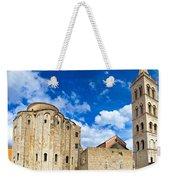 Zadar Cathedral Famous Landmark Of Croatia Weekender Tote Bag
