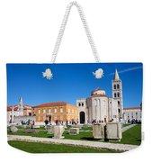 Zadar Historic Architecture Weekender Tote Bag