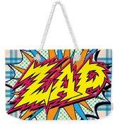 Zap Weekender Tote Bag