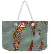 Zebra Art - 64spc Weekender Tote Bag