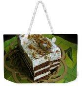 Zebra Cake Weekender Tote Bag