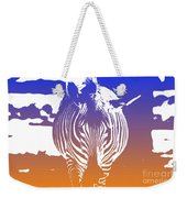 Zebra Crossing V6 Weekender Tote Bag