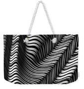 Zebra Folds Weekender Tote Bag