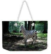 Zebra Forest 2 Weekender Tote Bag
