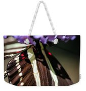 Zebra Heliconian Heliconius Charithonia Weekender Tote Bag