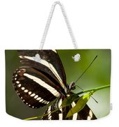 Zebra Longwing 3 Weekender Tote Bag