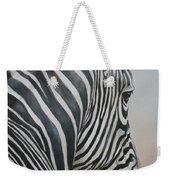 Zebra Look Weekender Tote Bag