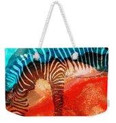 Zebra Love - Art By Sharon Cummings Weekender Tote Bag by Sharon Cummings
