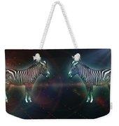 Zebra Nation Weekender Tote Bag