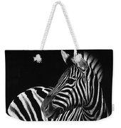 Zebra No. 3 Weekender Tote Bag