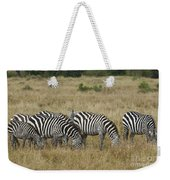 Zebra On Masai Mara Plains Weekender Tote Bag