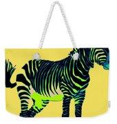Zebra Pop Art Weekender Tote Bag