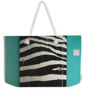 Zebra Stripe Mural - Door Number 2 Weekender Tote Bag