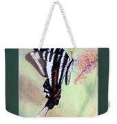 Zebra Swallowtail Butterfly By George Wood Weekender Tote Bag