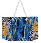 Zebras Abstracted Weekender Tote Bag