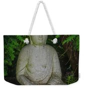 Zen Buddha Weekender Tote Bag