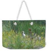 Zen Egret Weekender Tote Bag