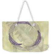 Zen Feather Circle I I I Weekender Tote Bag