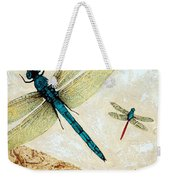 Zen Flight - Dragonfly Art By Sharon Cummings Weekender Tote Bag
