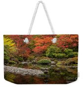 Zen Foliage Colors Weekender Tote Bag