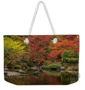 Zen Garden Reflected Weekender Tote Bag