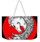 Zen Horse White Weekender Tote Bag