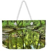 Zen In The Forest Weekender Tote Bag by Adam Jewell