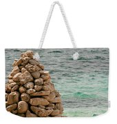 Zen Rocks In Paradise Weekender Tote Bag