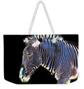 Zephyrus Zebra II Weekender Tote Bag