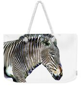 Zephyrus Zebra IIi Weekender Tote Bag