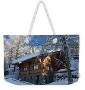 Zermatt Chalet Weekender Tote Bag