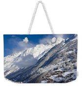 Zermatt Mountains Weekender Tote Bag