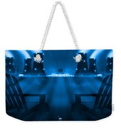 Zero Hour In Blue Weekender Tote Bag
