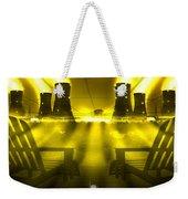Zero Hour In Yellow Weekender Tote Bag