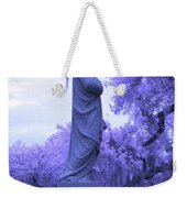 Ziba King Memorial Statue Side View Florida Usa Near Infrared Weekender Tote Bag