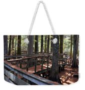 Zig Zag Thru The Cypress Trees Weekender Tote Bag