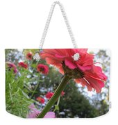 Zinnia Side View Weekender Tote Bag