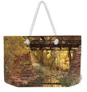 Zion Bridge Weekender Tote Bag