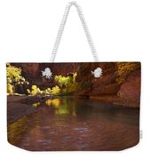Zion Canyon Of The Virgin River Weekender Tote Bag